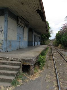Abandoned Train Station