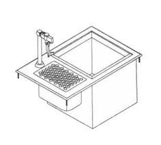 LaCrosse DI-WS-IB Drop-In Ice & Water Unit