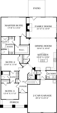 Ranch Style House Plans Southern Living Southern Living Homes ...