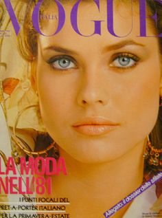 Carol Alt - Vogue Italia 1981
