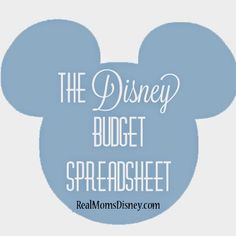 #FREE #DisneyWorld Budget Spreadsheet! This post is great; it really helps you plan out how to spend your money wisely at Disney!