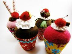 Cupcakes cupcak land, felt cupcak
