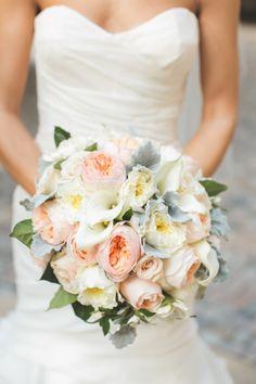 Pale pastel bouquet: http://www.stylemepretty.com/washington-dc-weddings/2014/04/16/elegant-meridian-house-wedding/ | Photography: Maria Vicencio - http://www.mariavicencio.com/