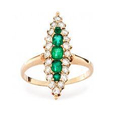 victorian ring, emeralds, fashion, diamonds, green, cushion, emerald rings, cut emerald, engagement rings