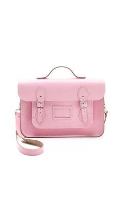 Pink Cambridge Satchel {click to shop}