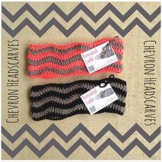 Crochet Chevron Headscarves!