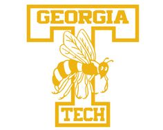 Georgia Tech Yellow Jackets Decal