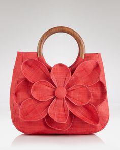 hermosa bolsa de flores