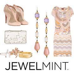 missoni dress, kate spade jewelmint earrings