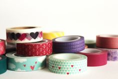 Choose Any 16 Washi Tapes or Oil Paper Tapes 20 off by mooseart, $40.96