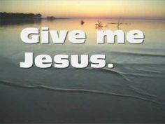 """Jeremy Camp: """"Give Me Jesus"""""""
