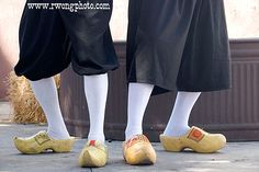The Van Kleaver Brothers Clogs Dutch Wooden Shoes