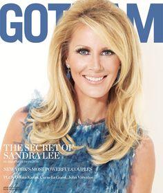 Sandra Lee Covers February 2012 Issue of GOTHAM Magazine