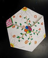 flexagons...great for art and math..math club?? she has a downloadable worksheet with instructions