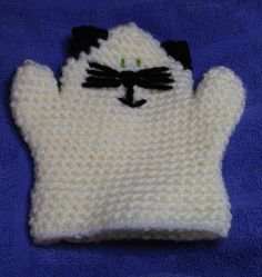 Kitty Kat Wash Mitt