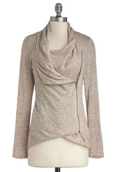 Love this sweatshirt and it comes in a bunch of colors -   Airport Greeting Cardigan in Oatmeal, #ModCloth