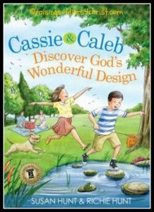 Cassie & Caleb Discover God's Wonderful Design! This is such a wonderful devotional book!!!