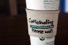 Caffeinating Coffee Sleeve