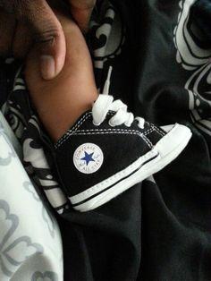My baby boys shoe. Lol