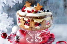 Gingerbread Trifle -