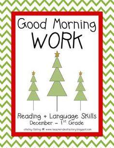 Good Morning Work - Reading - December