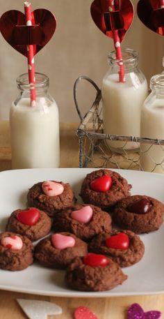 Valentines Fudge Cookies