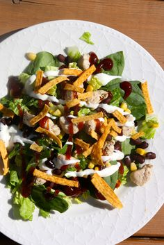 3 super easy lunch salad recipes