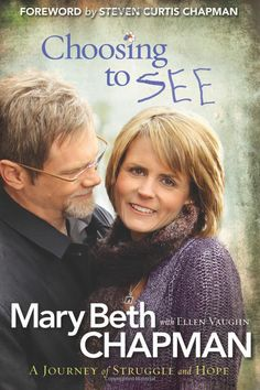 A story of tragedy and healing through a terrible tragedy.  True story of Steven and Mary Beth Curtis Chapman's struggles after the tragic death of their adopted daughter.