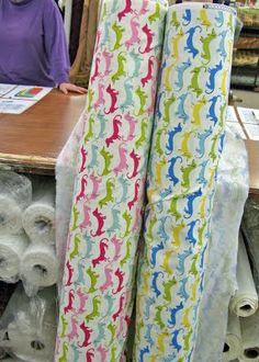 dachshund fabric ♥♥♥ dauchshund dauchshunds weenier weeniers weenie weenies hot dog hotdogs doxie doxies ♥♥♥