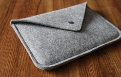 ipad sleeve Felt ipad air case pouch unique ipad 2 by magoda, $15.90