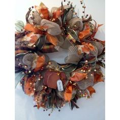 Harvest Wreath posted on Craft Outlet's Photo contest by Kattfish Kreations
