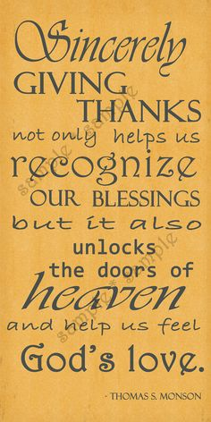 Give thanks with a grateful heart. Give thanks to the Holy One.