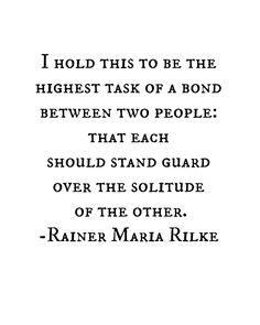 Rainer Maria Rilke •