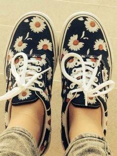 Daisy Vans!