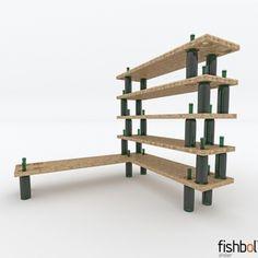 bottle repurposing idea.  To display wine accessories