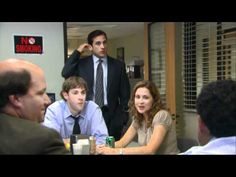 The Office season 4 bloopers part 1