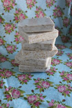 My Own Road: Melt & Pour Honey Almond Oatmeal Soap