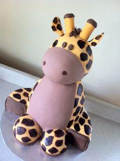 baby shower cakes, shower baby, first birthdays, giraff cake, babi shower, giraffes, kid, baby showers, birthday cakes