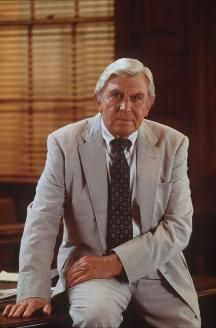 "One of my favorite law shows.   Andy Griffith as folksy lawyer Ben Matlock in the television series ""Matlock"""