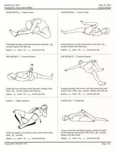 Ricerche correlate a sciatica leg pain relief exercises