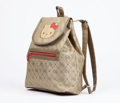 Hello Kitty Mini Backpack: Jacquard