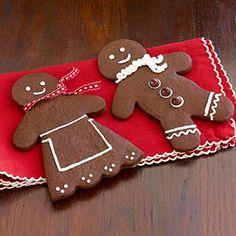 Chocolate Gingerbread Men Recipe