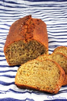 Healthy Vegan Spiced Zucchini Banana Bread..used oat flour instead and added carrots