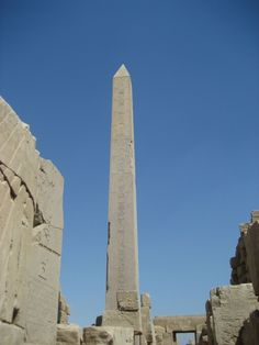 Obelisk at Temple of Karnak