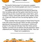 Good Family Project Ideas