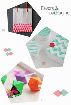 DIY-geometrical-favors-and-packaging