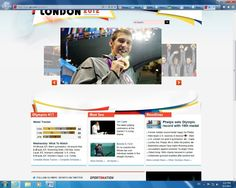 IMG 311: The front page of American sports news outlet ESPN features a large photograph of swim sensation, Michael Phelps, receiving a gold medal. The heavy tendency to cover his achievements is proved by the fact that he is highlighted twice on this page alone. In contrast, South Korean athlete, Shin Lam, is captured crying. She is the only foreign athlete on the page. michael phelp