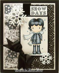 Winter Card using a CC Designs image