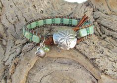 Key Lime tropical wrap with CzechMates and by WorldOfSquirrelCraft, $24.00
