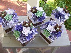Paper Flower Centerpieces  Origami  Kusudama  Made by PoshStudios, $225.00